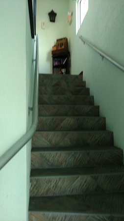 Stairs to restaurant - Located on 2nd floor.