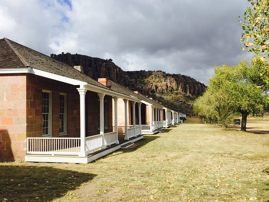 Fort Davis National Historic Site : Officers' Row