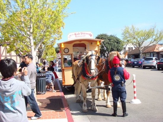 Solvang Trolley & Carriage Photo