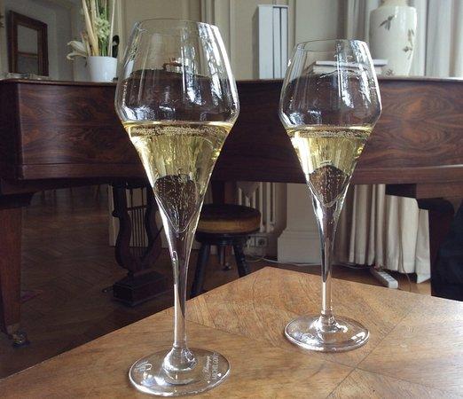 Dizy, Francia: Our tasting