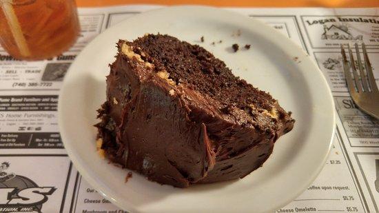 Jack's Steak House : Buckeye Cake. (Best with a tall glass of milk)