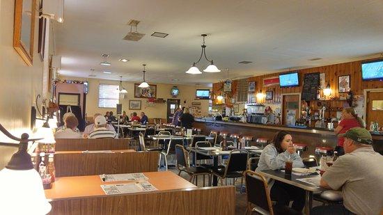 Jack's Steak House : Inside of dining area.