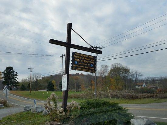 Chautauqua County, État de New York : signage