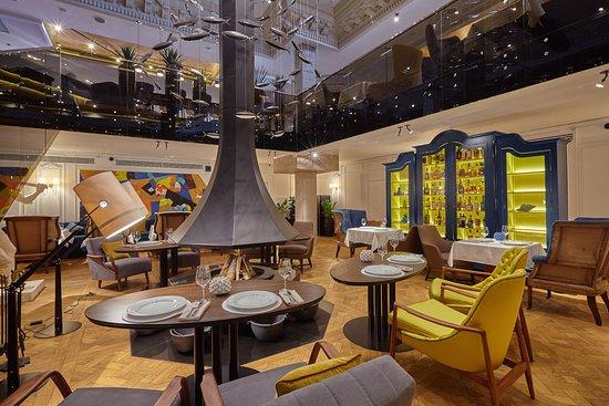 Photo of Comfort Food Restaurant ERWIN Restaurant & Bar at Кутузовский Проспект, 2/1, Стр. 6., Москва, Russia