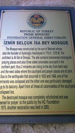 Isa Bey Mosque: Info