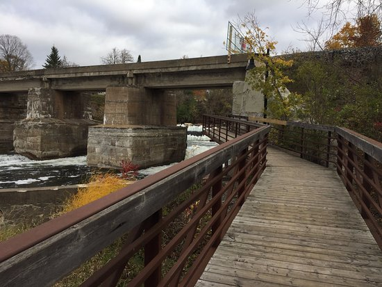 Almonte, Canadá: The boardwalk