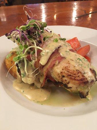Waipapa, Nouvelle-Zélande : Stuffed Chicken Breast