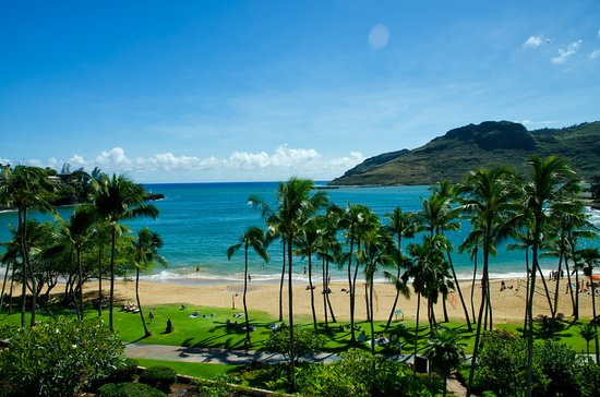 Marriott's Kaua'i Beach Club: BEACH AREA