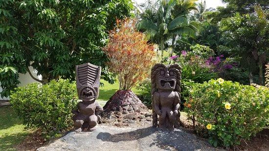 Lawai, HI: Volcano at Hawaiian Trading Post