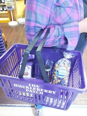Hungry Horse, MT: Our purple purchases!