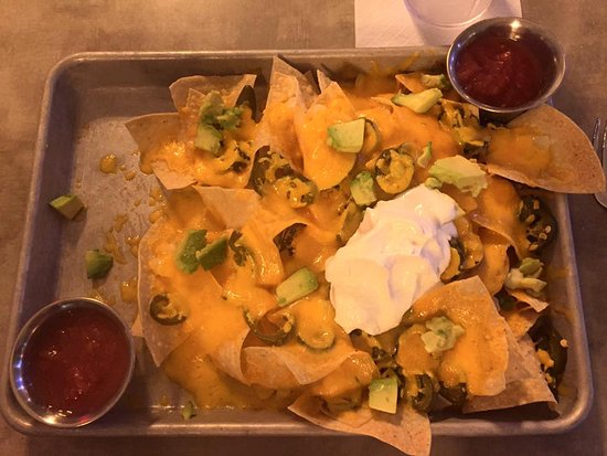 the white buffalo food beer co 1 2 order of nachos delicious