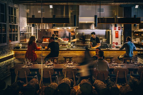 Photo of Australian Restaurant Firedoor at 23-33 Mary St, Sydney, Ne 2010, Australia