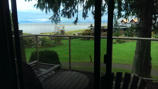 Courtenay, Canadá: View from the room