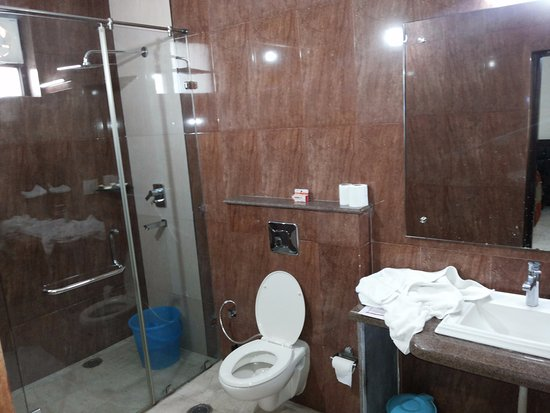 Bansi Home Stay: Shower and toilet
