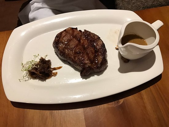 An average steak