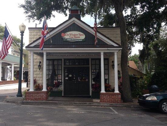 Windsor Rose Tea Room Amp Restaurant Mount Dora Menu