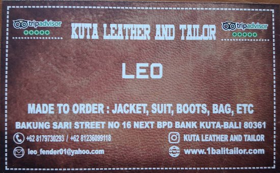 ‪Kuta Leather And Tailor‬