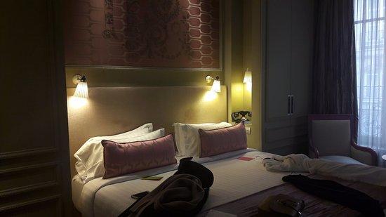 Junior suite picture of hotel spa la belle juliette for Hotel la belle juliette paris
