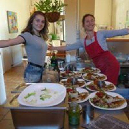 Saint-Etienne-d'Albagnan, France : Passion cuisine vivante avec Cathy...