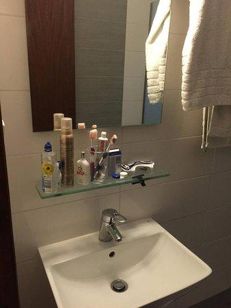 Orpheus Hotel: un particolare del bagno