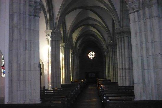 Saint Die des Vosges, Γαλλία: des colonnes & stalles