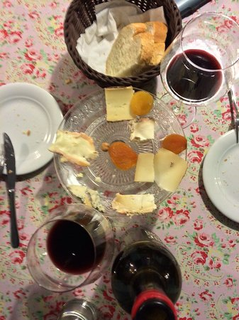 Porrera, Spanien: Restaurant La Cooperativa