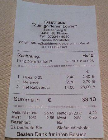 St. Florian, Αυστρία: Günstig und gute Qualität.
