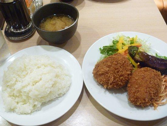Kitchen Jiro, Nakanoshima Festival Plaza : かぼちゃコロッケ