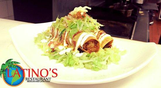 latino s restaurant chicken flauta
