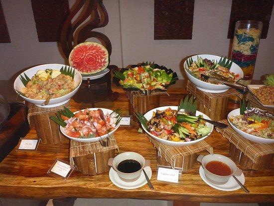 The Residence Maldives: Salatbuffet