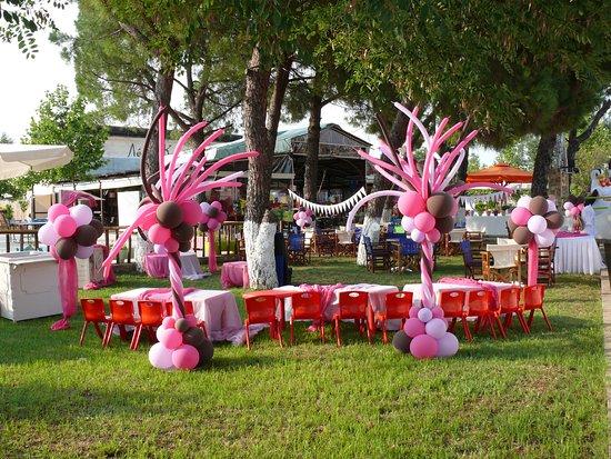 Kilkis, Hellas: Στολισμός πάρτι γενέθλιων