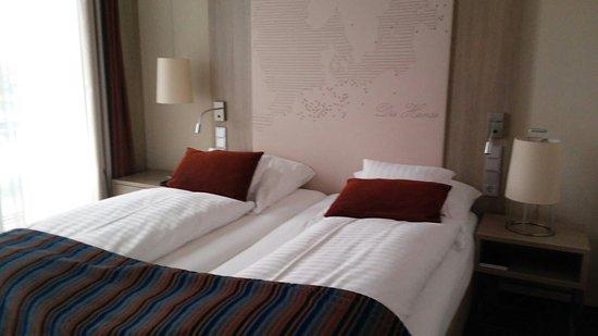 Steigenberger Hotel Bremen: Mein Superiorzimmer (618) , perfektes Zimmer auf 27qm