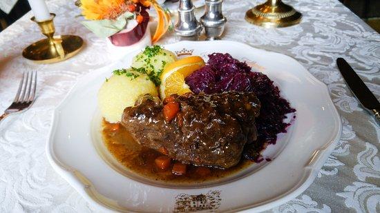 Hotel-Restaurant Kronprinz: Pferderoulade