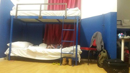 Pegasus Hostel: Beliche (quarto para 10 pessoas)