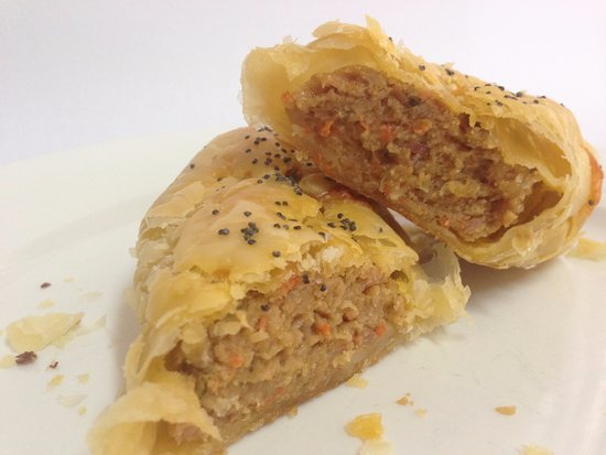 Bentley, Australia: Home Made Sausage Roll