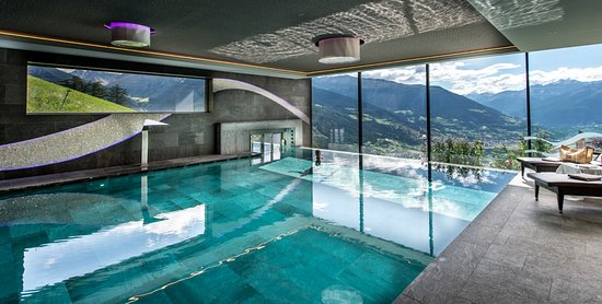infinity pool bild von alpin relax hotel das gerstl mals im vinschgau tripadvisor. Black Bedroom Furniture Sets. Home Design Ideas