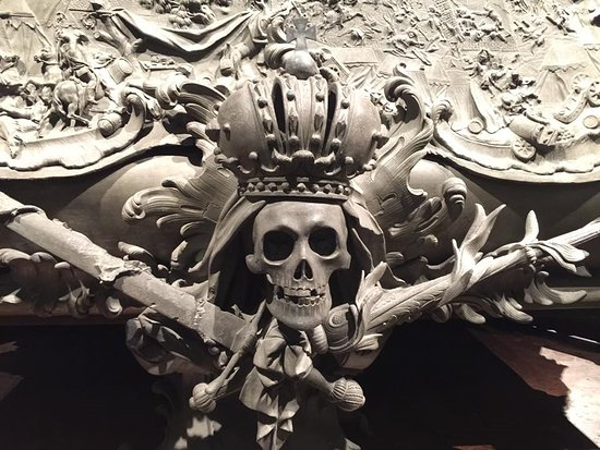Especially The Habsburg Dynasty Developed A Liking For Maccabre Skull Herraldry
