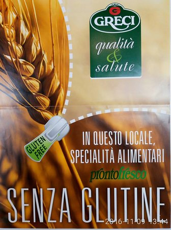 Musile di Piave, Italia: Pizza senza glutine di  pizzeria lemille