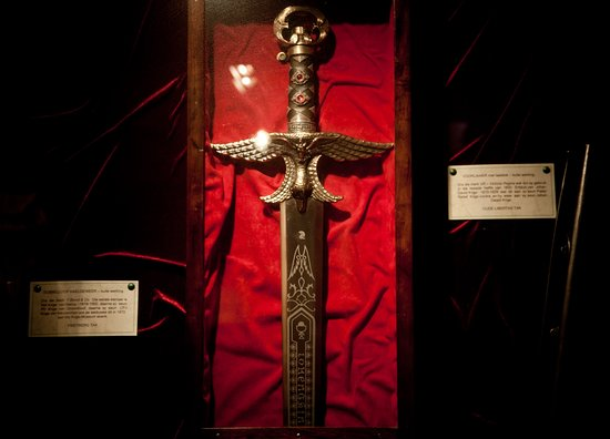 Caledon Villa: Krige Museum display