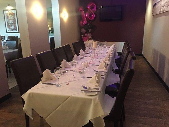 Ristorante Bravi: Private dining area available