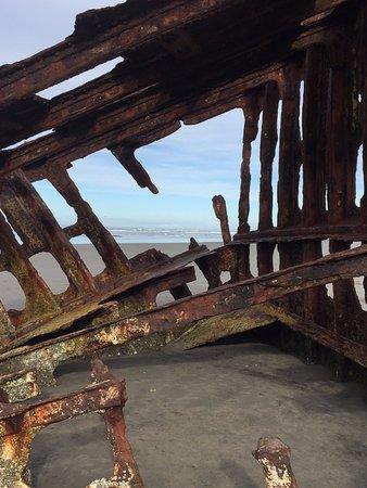 Fort Stevens State Park: Peter Iredale shipwreck.