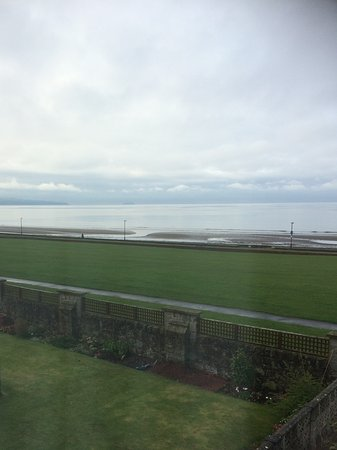 Prestwick, UK: View from room