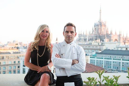 Paola Natucci Castaldo E Lo Chef Giovanni Caracciolo