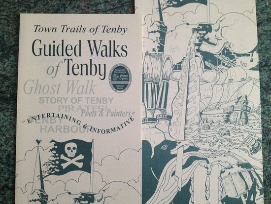 Guided Tours Wales: Ghost Walk,Story of Tenby & Guided Coach Tours with Blue Badge Guide