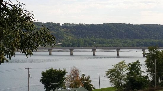 Shamokin Dam, PA: View of the river