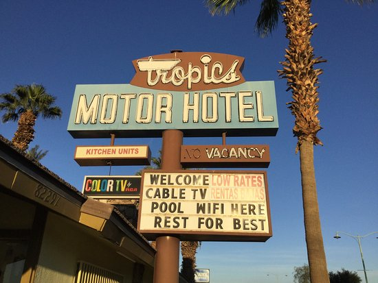 TROPICS MOTOR HOTEL Prices & Reviews Indio CA TripAdvisor