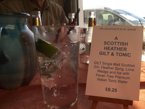 Portmahomack, UK: A very special gin and tonic