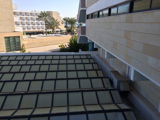 Constantinou Bros Asimina Suites Hotel: Inland view isn't beautiful