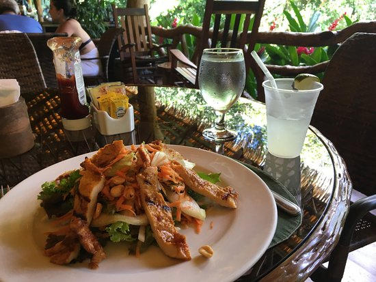 The Springs Resort and Spa: Delicious fresh food and fresh squeezed lemonade