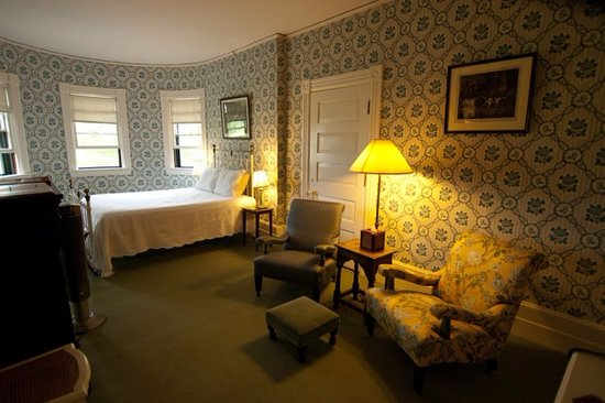 Inn at Shelburne Farms: One of the spectacular rooms at the Inn